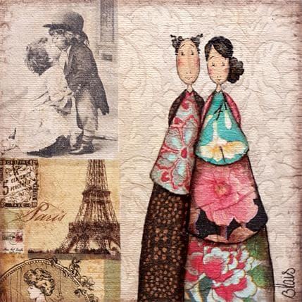 Delphine Blais Luce et Gustave 13 x 13 cm