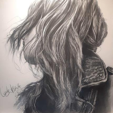 Cécile Desserle La giffle 100 x 100 cm
