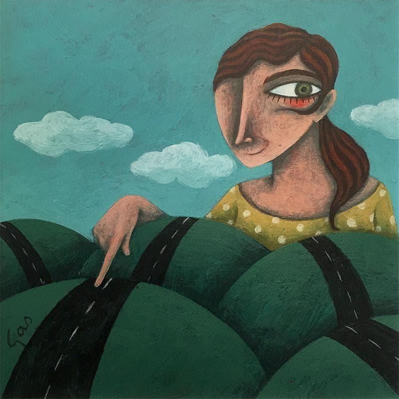 Peintures acrylique Illustration Acrylique</h2>