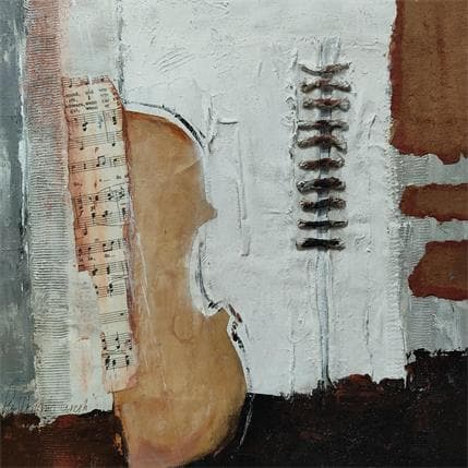 Lydia Van Domburgh Sans titre D1 36 x 36 cm