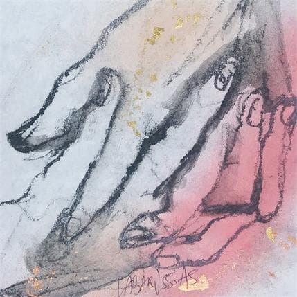 Corinne Labarussias Mains croisées 13 x 13 cm