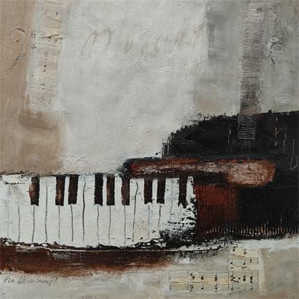 Lydia Van Domburgh Sans titre D8 36 x 36 cm
