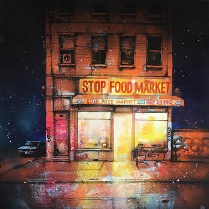Graffmatt Stop Food Market 100 x 100 cm