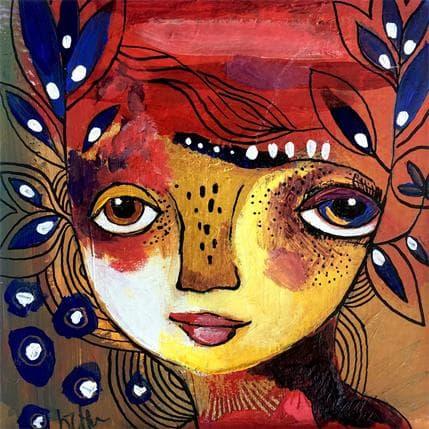 Laure Ketfa La nuit du cœur 13 x 13 cm