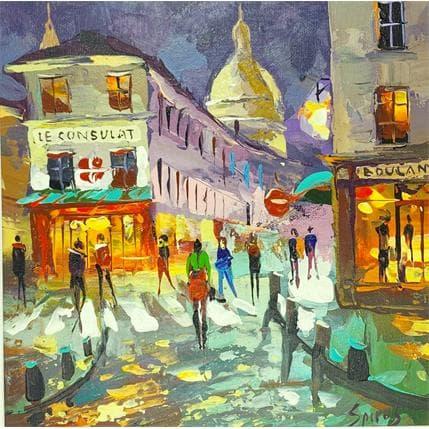 Dmitry Spiros Melodies in Paris 25 x 25 cm