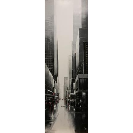 Maurizio Galloro Elevation urbaine 40 x 120 cm