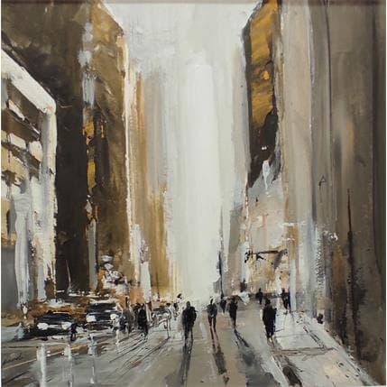 Richard Poumelin Gold avenue 25 x 25 cm