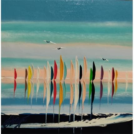 David Fonteyne DOUCEUR MARITIME 25 x 25 cm