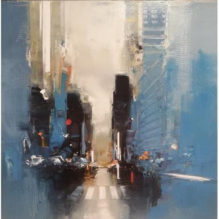 Daniel Castan 5th avenue matin 50 x 50 cm