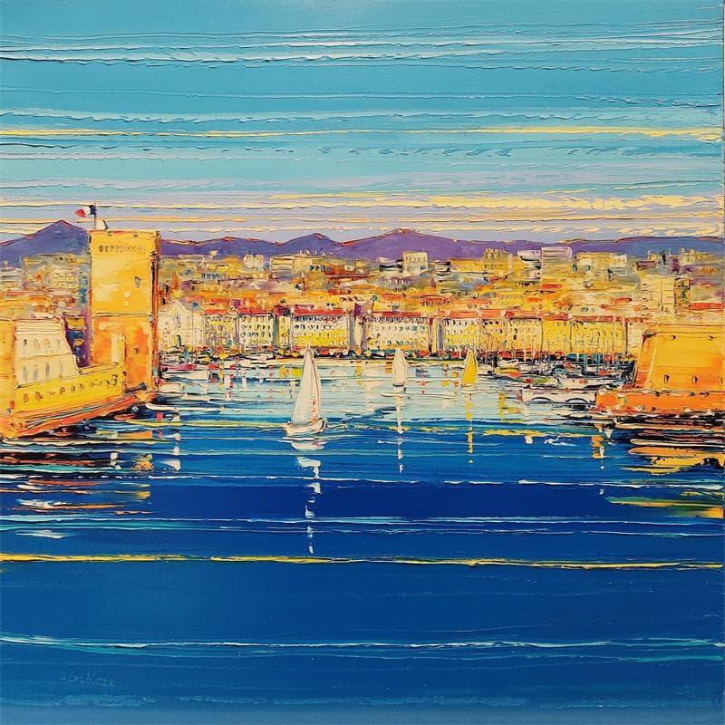 Voiliers dans le port, Marseille