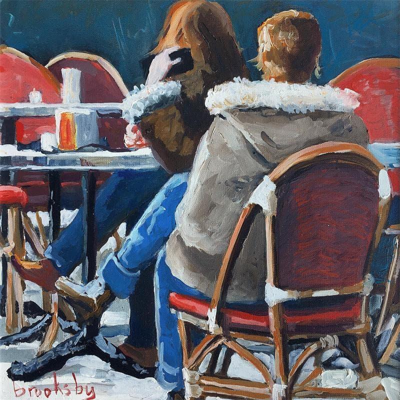Deux filles au café