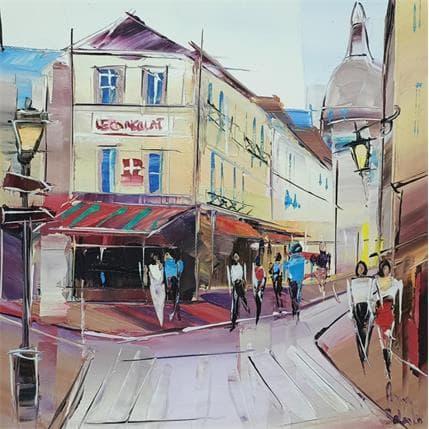 Salenko Anna Déjeuner à Montmartre 25 x 25 cm