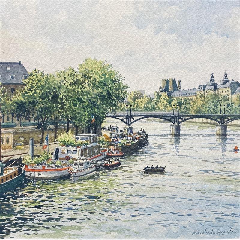 Paris, la passerelle des arts