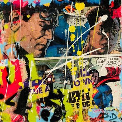 David Drioton HEROES N°66 13 x 13 cm