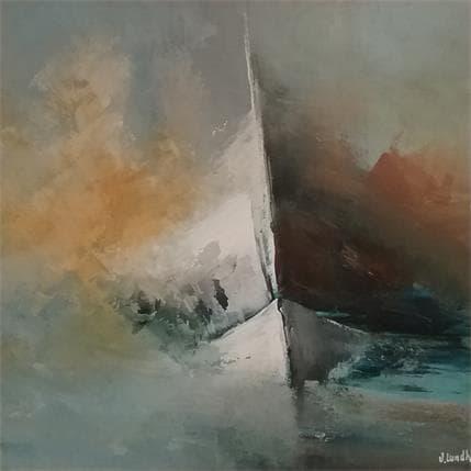 Jonas Lundh Dreamboat 1 25 x 25 cm