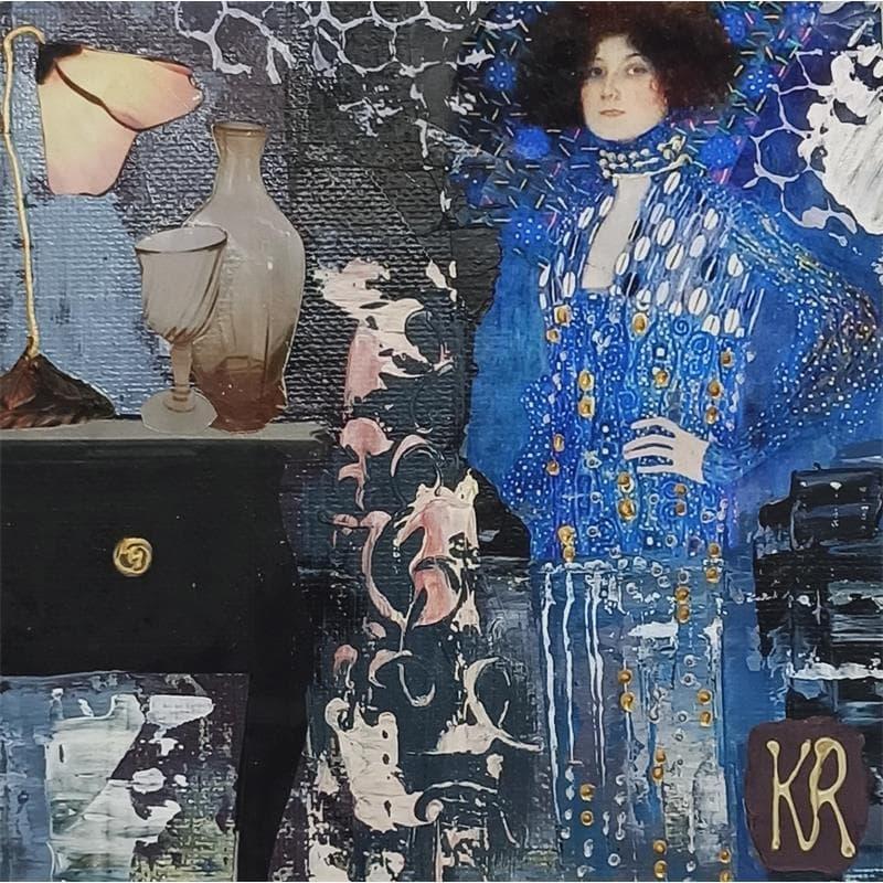 AD Klimt bleu