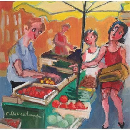 Christine Doucedame Ces tomates là 19 x 19 cm