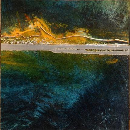 Christian Hévin Abstraction #2705 13 x 13 cm
