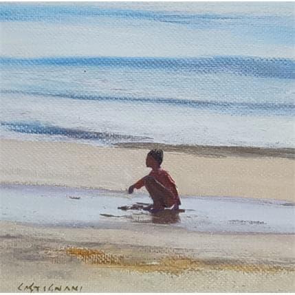 Sergi Castignani Sea shore 7 13 x 13 cm