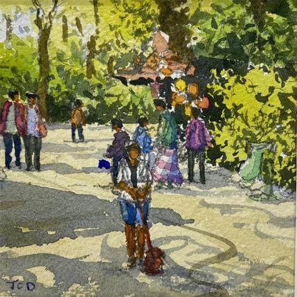 Jean-Charles Decoudun Square parisien 13 x 13 cm