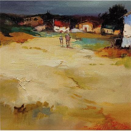 Cabello Ruiz Jose Camino del pueblo 19 x 19 cm