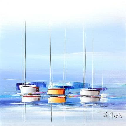 Munsch Eric Bleu d'océan 80 x 80 cm
