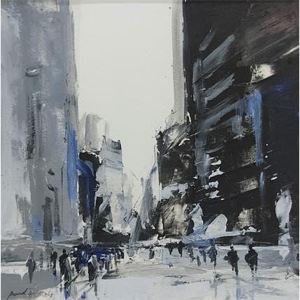 Richard Poumelin Urban black 19 x 19 cm