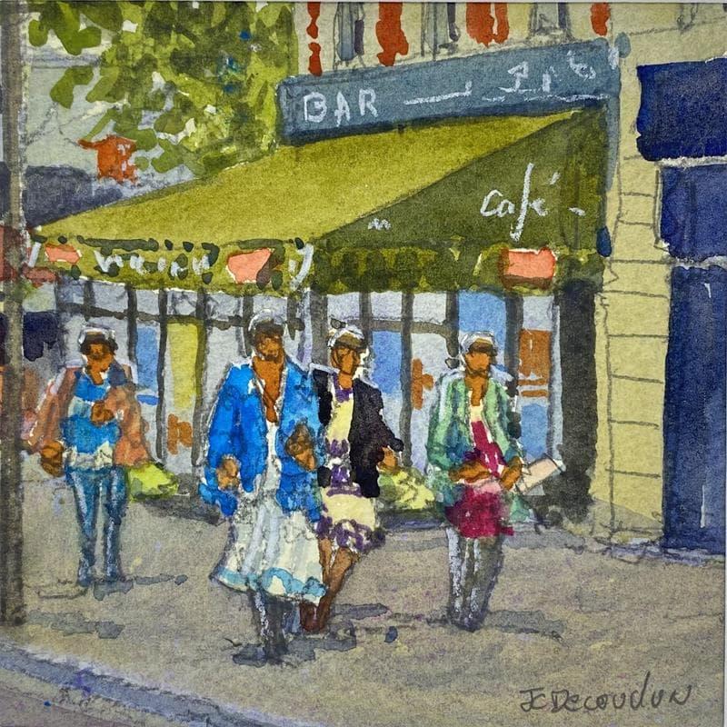 Paris, les boulevards