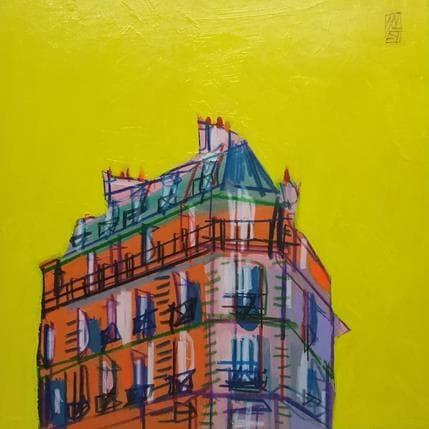 Olivier Anicet Le beau temps 19 x 19 cm