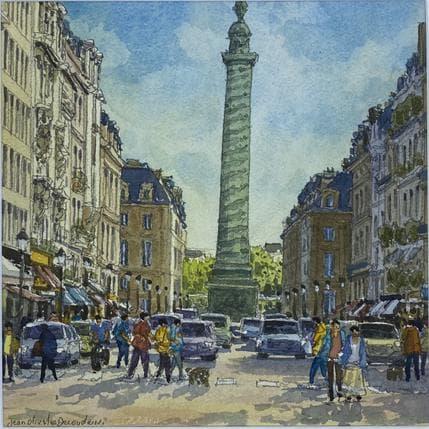 Jean-Charles Decoudun Paris, place Vendôme 25 x 25 cm