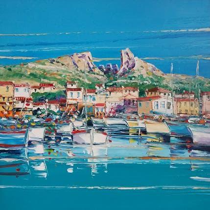 Liisa Corbière Les goudes, Marseille 50 x 50 cm