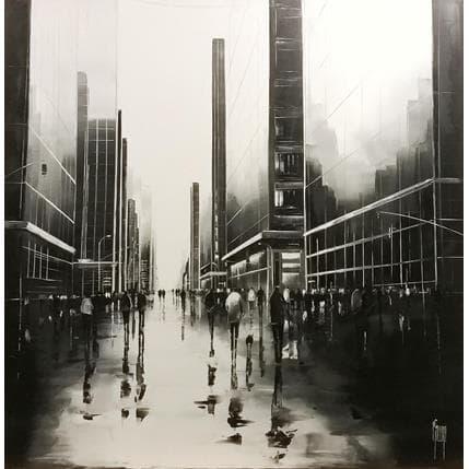 Maurizio Galloro Miroir de vie 80 x 80 cm
