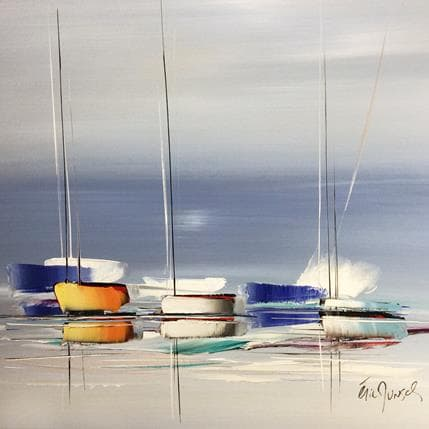 Eric Munsch Perle du sud 80 x 80 cm