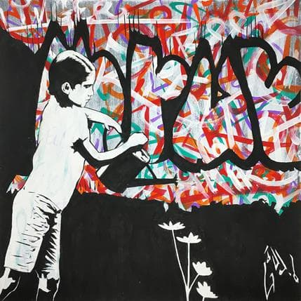 Alessandro Di Vicino Gaudio City lovers 36 x 36 cm