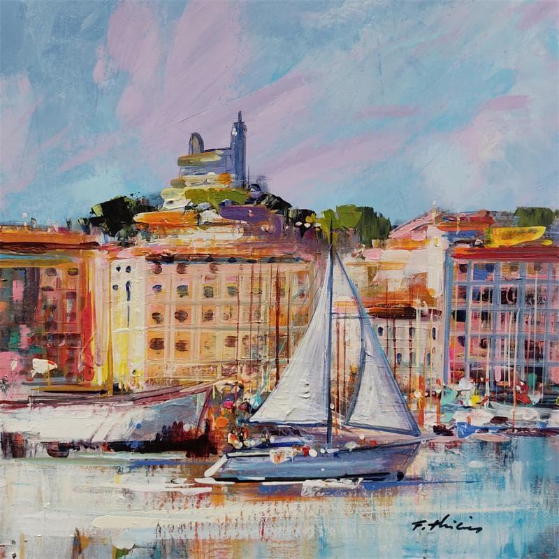 Matin sur le vieux port Marseille