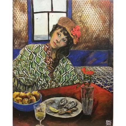 Esther Marlot Citrons fleuris 65 x 81 cm