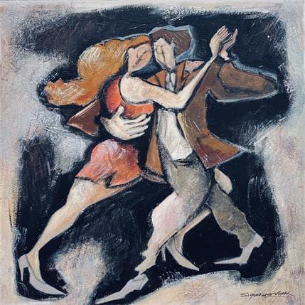 Bernard Signamarcheix Tango 36 x 36 cm