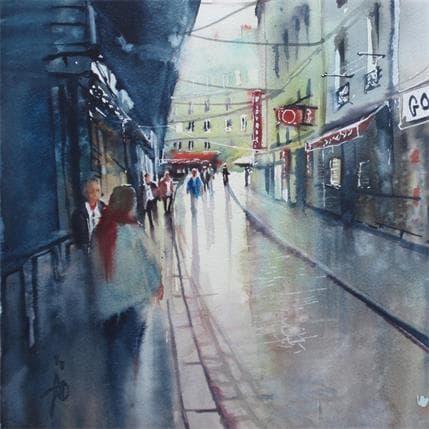 Abbatucci Violaine Mon quartier St Michel 25 x 25 cm