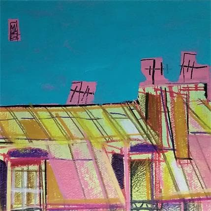 Anicet Olivier Above the Sky 19 x 19 cm