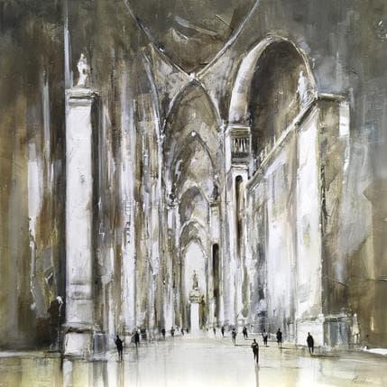 Richard Poumelin Sans titre (Cathédrale) 80 x 80 cm