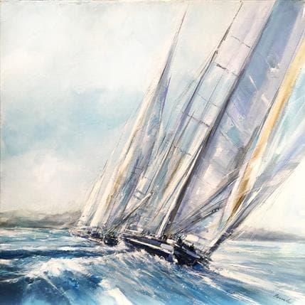 Richard Poumelin ST Marine 80 x 80 cm