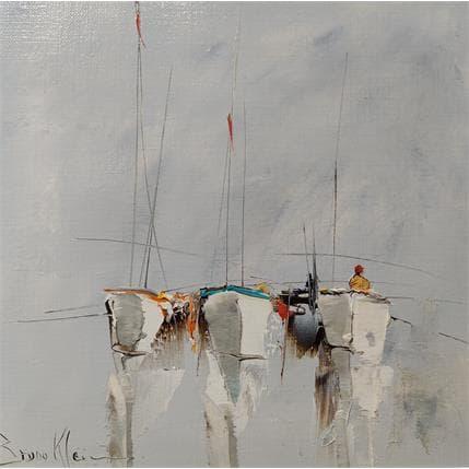 Bruno Klein Barques blanches 19 x 19 cm