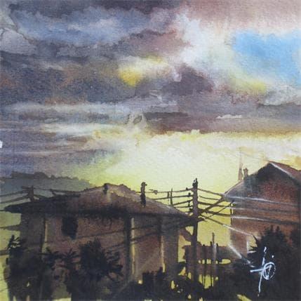 Violaine Abbatucci L'éclair de nuage 13 x 13 cm
