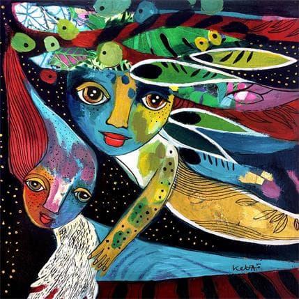 Laure Ketfa Mon ange 25 x 25 cm
