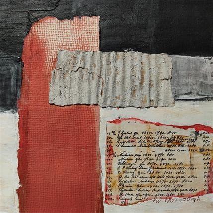 Lydia Van Domburgh Sans titre C4 25 x 25 cm