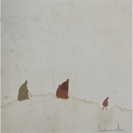 Lamiel Boubli En chemin 1 13 x 13 cm