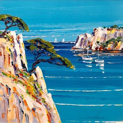 Liisa Corbière Vacances au paradis 25 x 25 cm