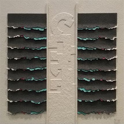 Gérard Clisson Enigma 36 x 36 cm