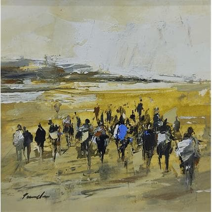 Richard Poumelin Le groupe 13 x 13 cm
