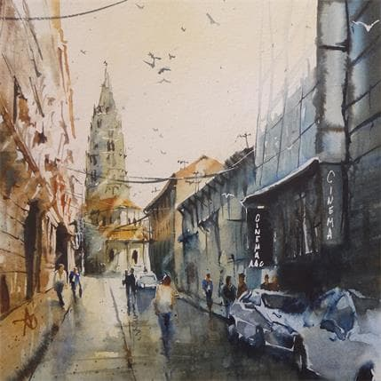 Violaine Abbatucci RENDEZ-VOUS CINE 25 x 25 cm
